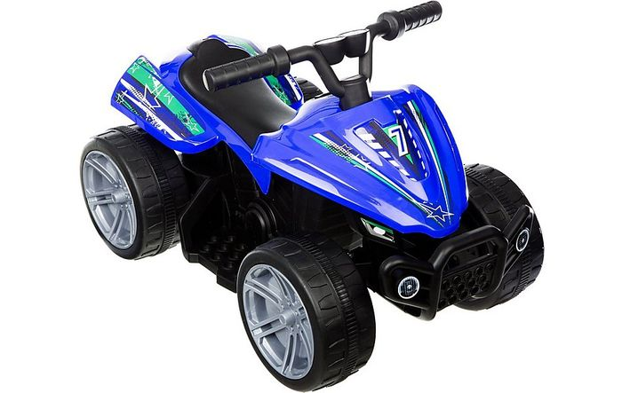 Roadsterz Volt 6V Electric Ride on Quad - Blue