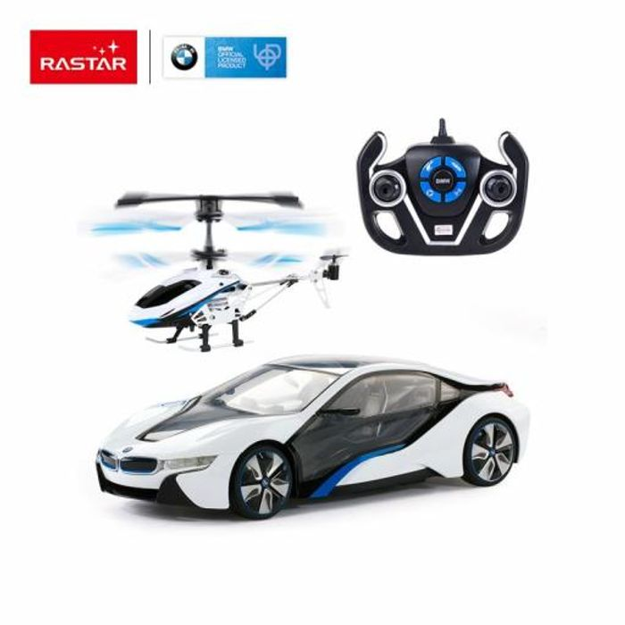 Remote Control Car & Helicopter Bmw I8