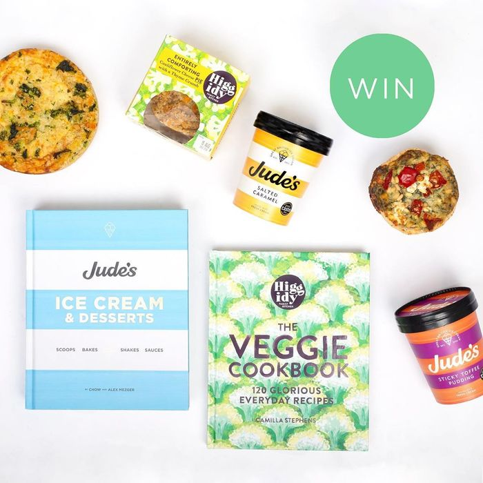 WIN the Veggie Cookbook plus a Bundle of Ice Cream and Pies