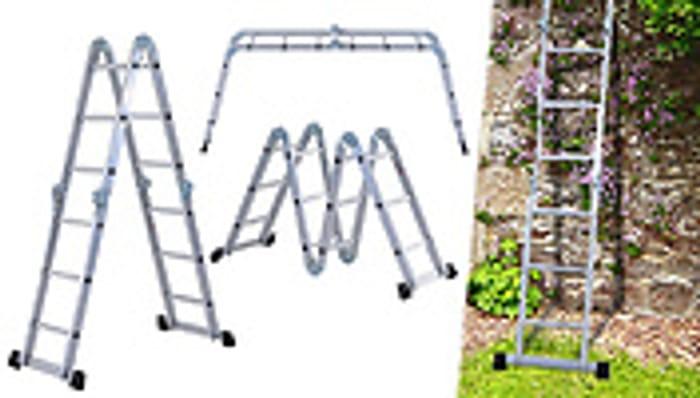 3.7m Pro-Articulated Aluminium Ladder