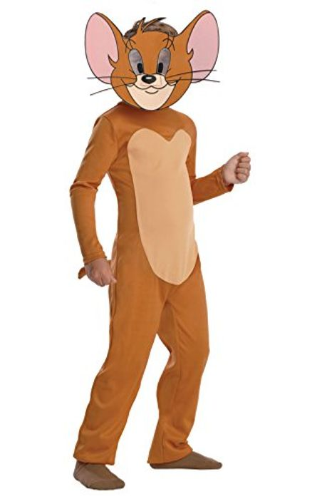 Rubies Tom & Jerry - Jerry Costume Child Fancy Dress (Age 3 to 4) - add-on