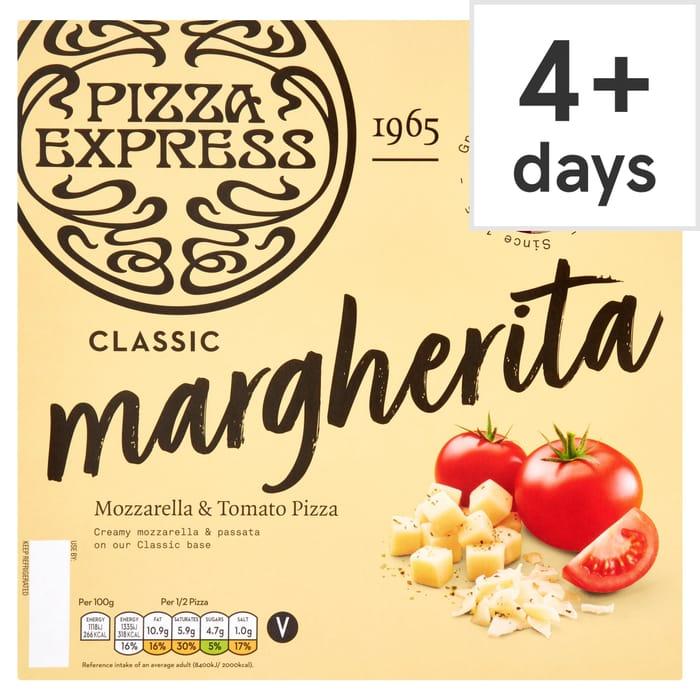 Half Price Pizza Express Margherita Pizza 245g Tesco