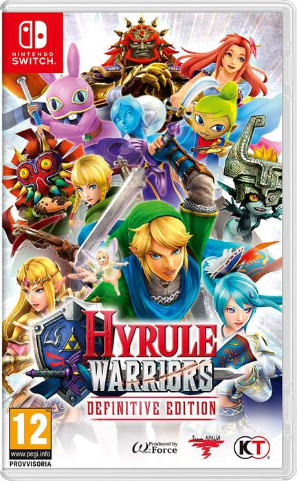 Nintendo Switch Hyrule Warriors - Definitive Edition £29.73 at Amazon (Italy)