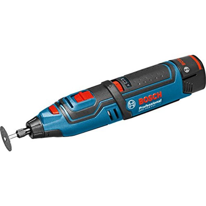 Bosch Professional Cordless Rotary Multi-Tool with 2 Lithium-Ion Batteries