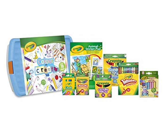 Best Ever Price! Crayola Colour and Create Tub