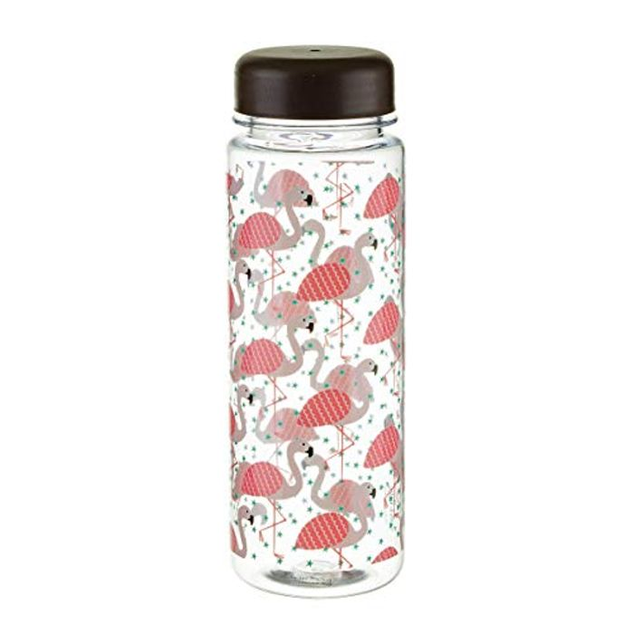 Sass & Belle Tropical Flamingo Reusable Water Bottle