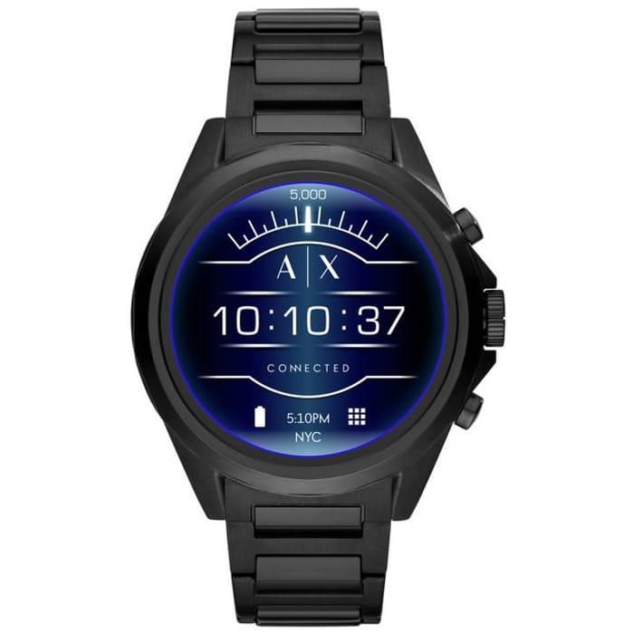 Best Price Armani Exchange Connected Smart Watch - Black