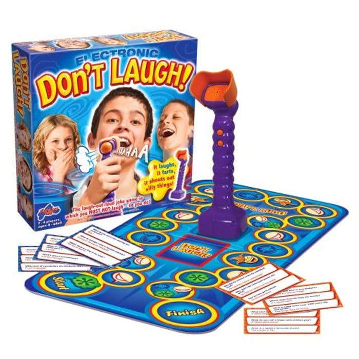 Dont Laugh Game - HILARIOUS Family Fun