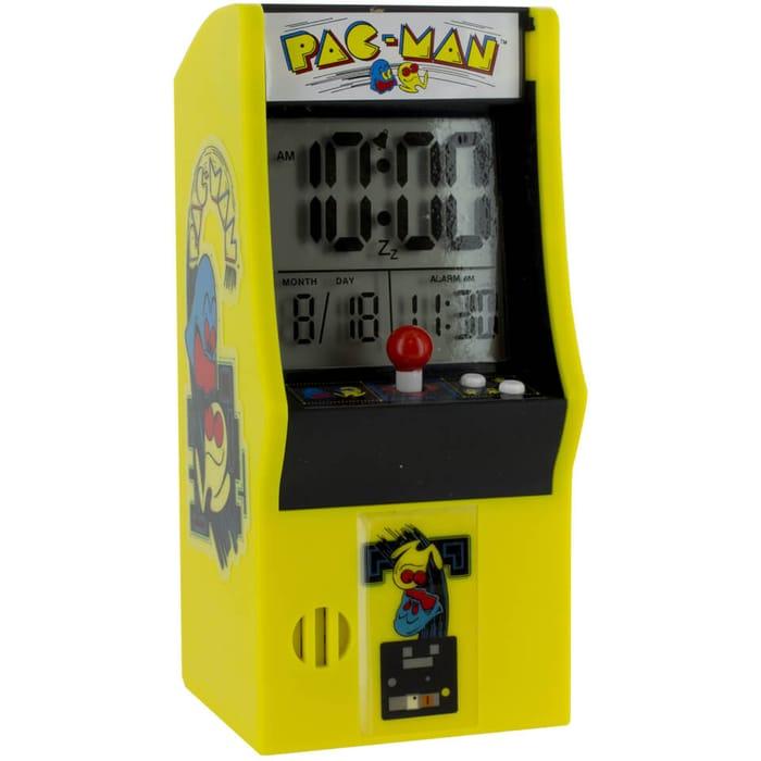 Pac Man Arcade Alarm Clock - Save £2
