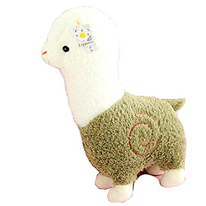 """Adorable Alpaca Plush Toy - 11"""" Inch Green FREE DELIVERY"""
