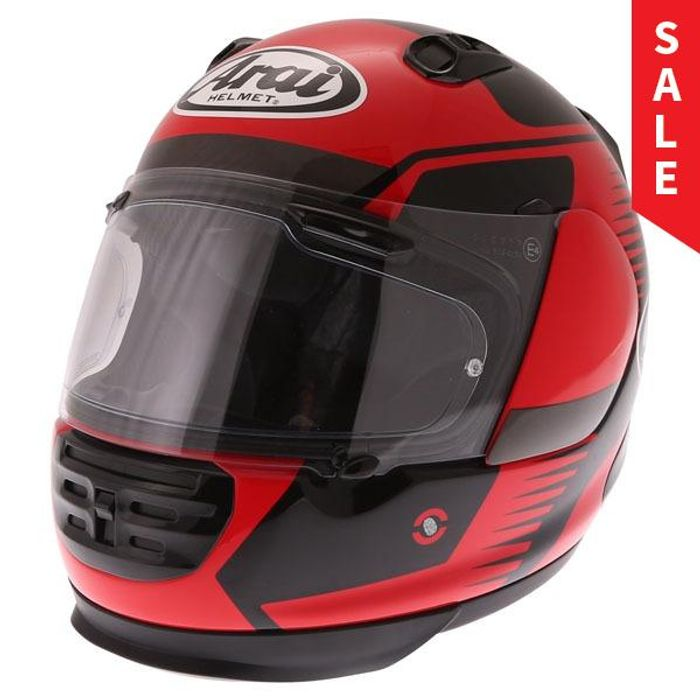 Arai Rebel Venturi Helmet (Red)