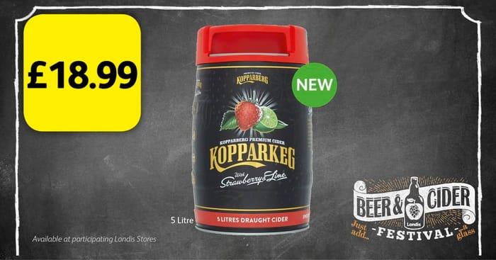 £18.99 for a Kopparkeg Keg!