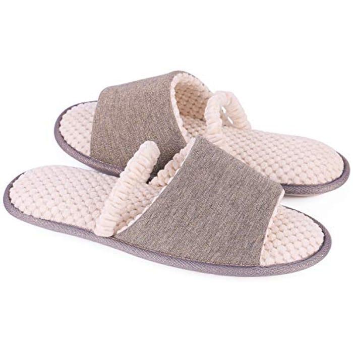 Memory Foam Slippers - Just £3.44
