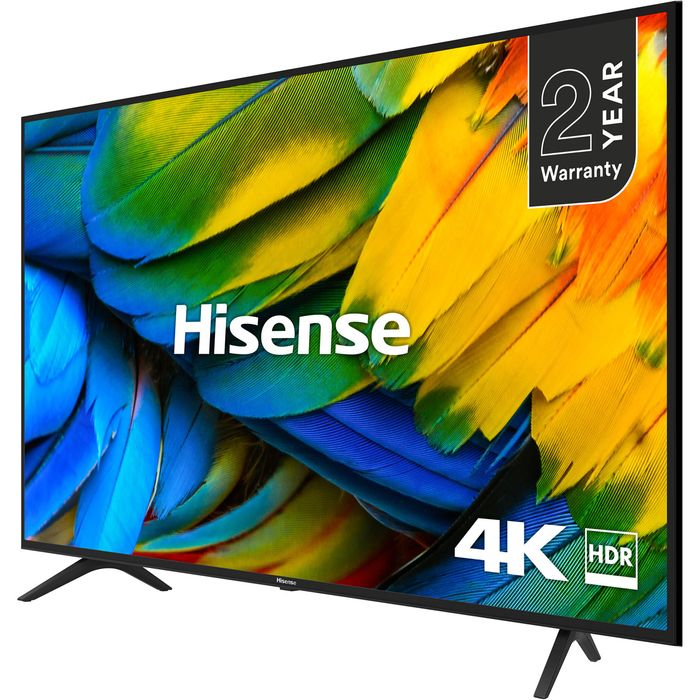 """*SAVE £30* Hisense 50"""" Smart 4K Ultra HD TV with HDR10 and DTS Studio Sound"""