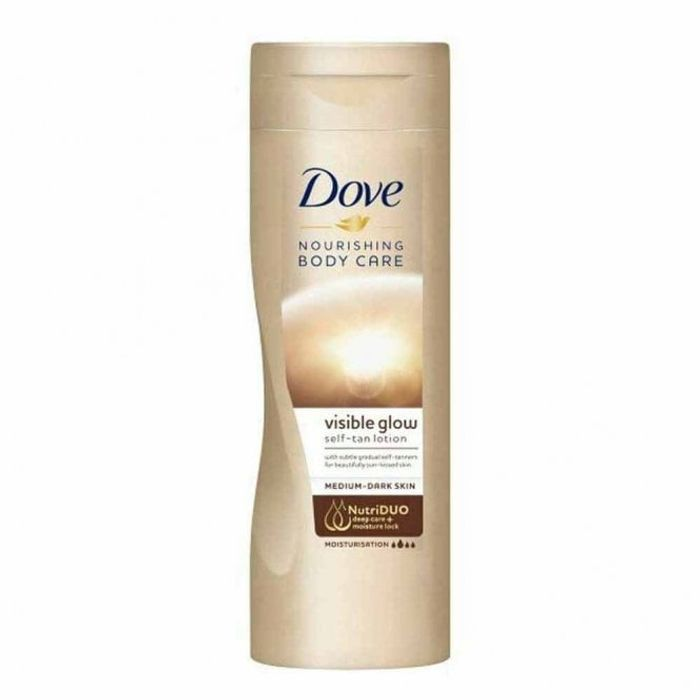 Visible Glow Gradual Self-Tan Lotion Medium to Dark - 400ml