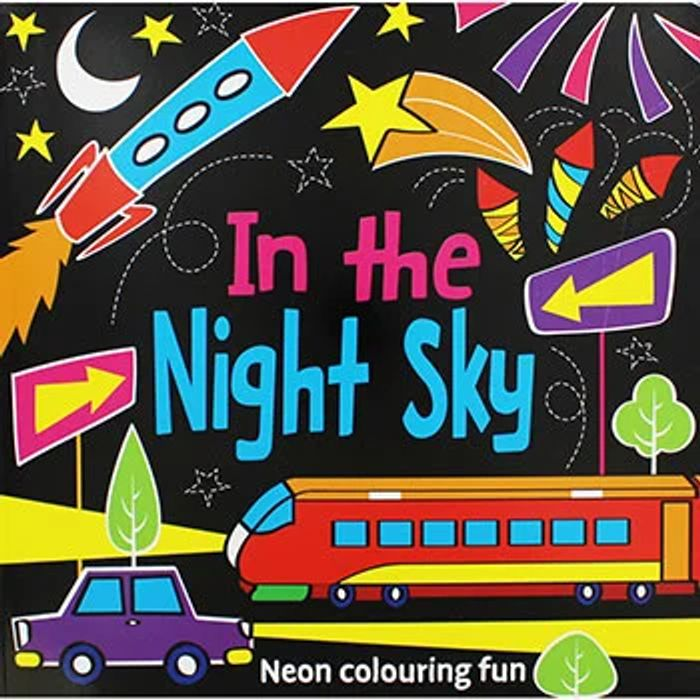 In the Night Sky Colouring Book