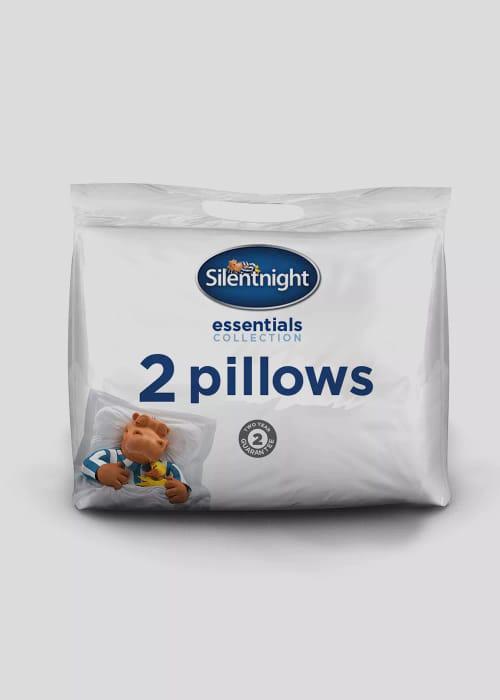 Pair of Essential Silentnight Pillows