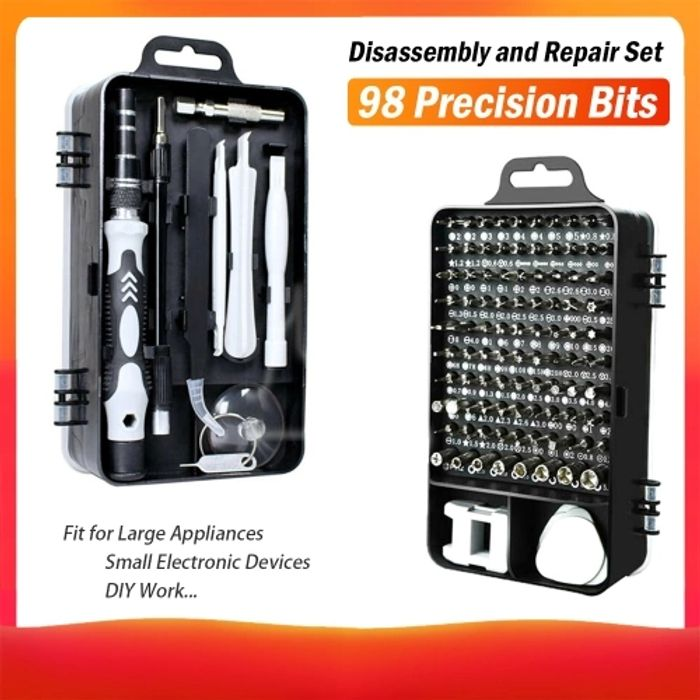 115 in 1 Magnetics Precision Screwdriver Set