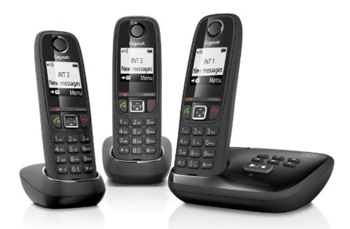 Gigaset Cordless Phone with Answering Machine (Pack of 3)