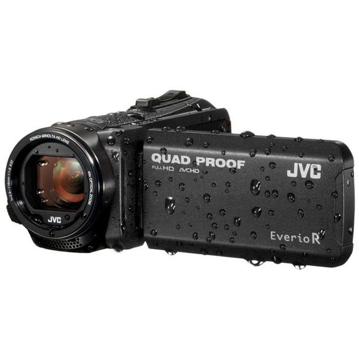 JVC GZ-R405B Full HD Quad Proof Camcorder Black