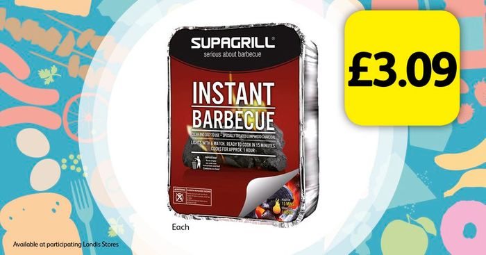 £3.09 for an Instant Barbeque!