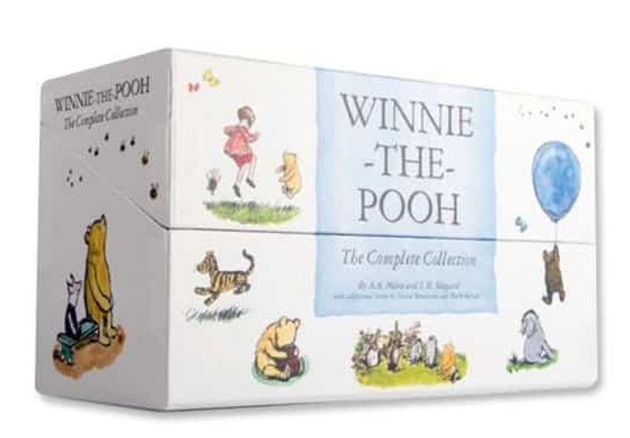 Winnie the Pooh Gift Set of Books save £118!