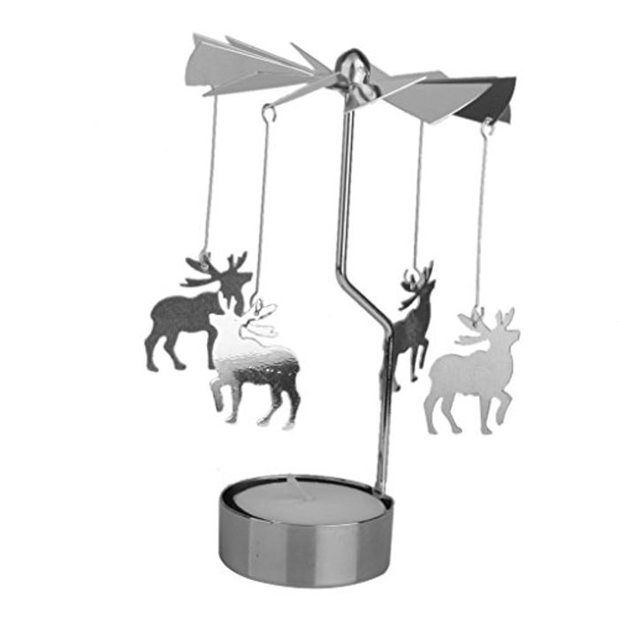 Christmas Rotating Tealight Holder
