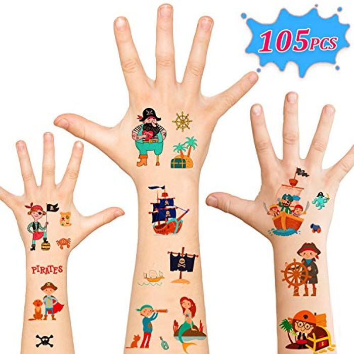 Children's Three Major Series Transfer Tattoo 40% Discount