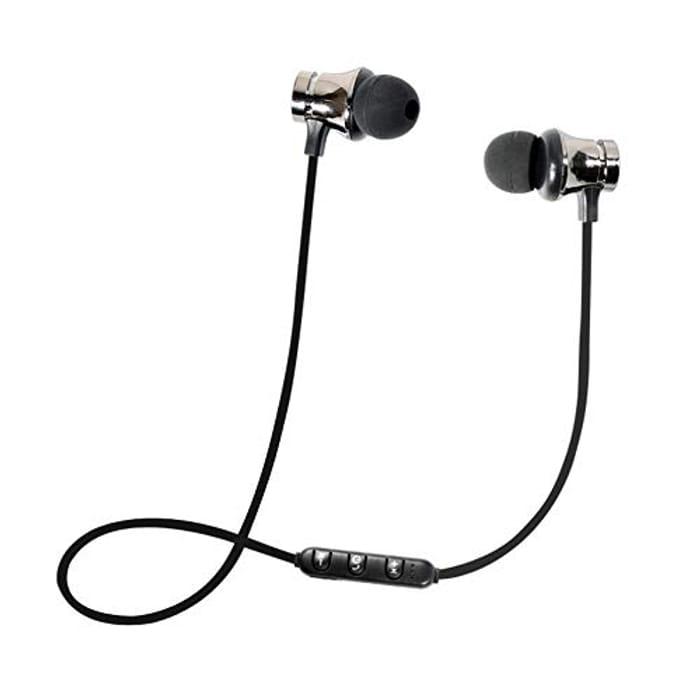 Bluetooth 4.2 Stereo Earphone Headset Wireless Magnetic In-Ear Earbuds