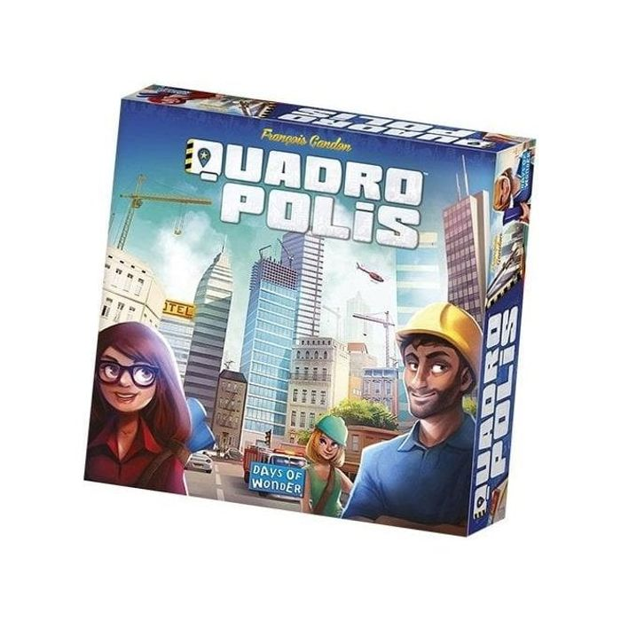 Quadropolis Board Game 14%off@ Chaos Cards