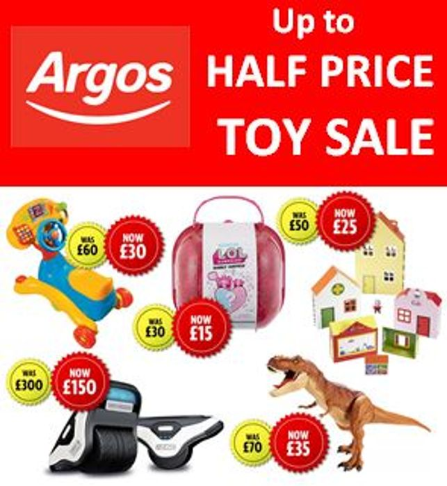 UPDATED!! When is the Argos TOY SALE 2019? The Start Date?