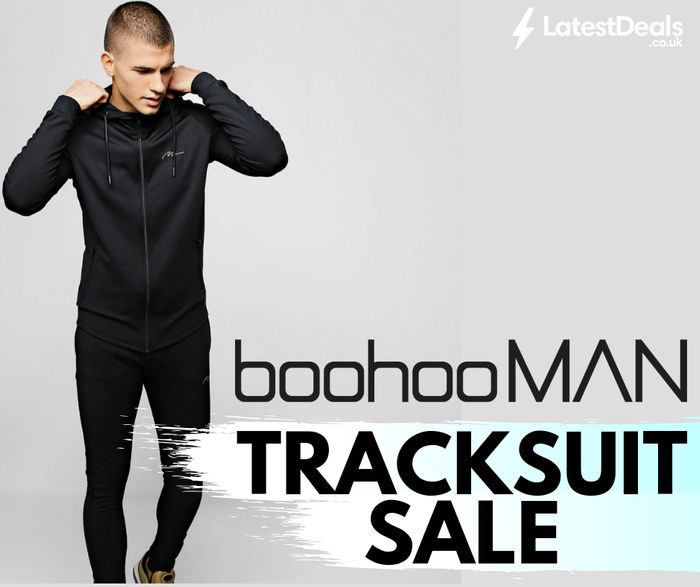 BoohooMAN Tracksuit Sale up to 50% Off