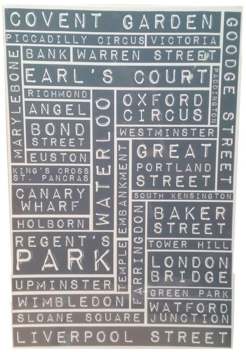 GRAHAM & BROWN London Landmark 40 X 60cm Canvas Only 2 for £1 at ClearanceXL
