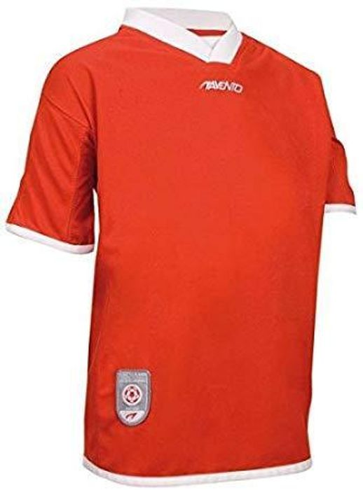 Avento Red Short Sleeve Football Shirt Only £1 at ClearanceXL