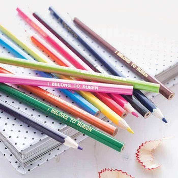 FREE Personalised Colouring Pencils - USE CODE PENS13