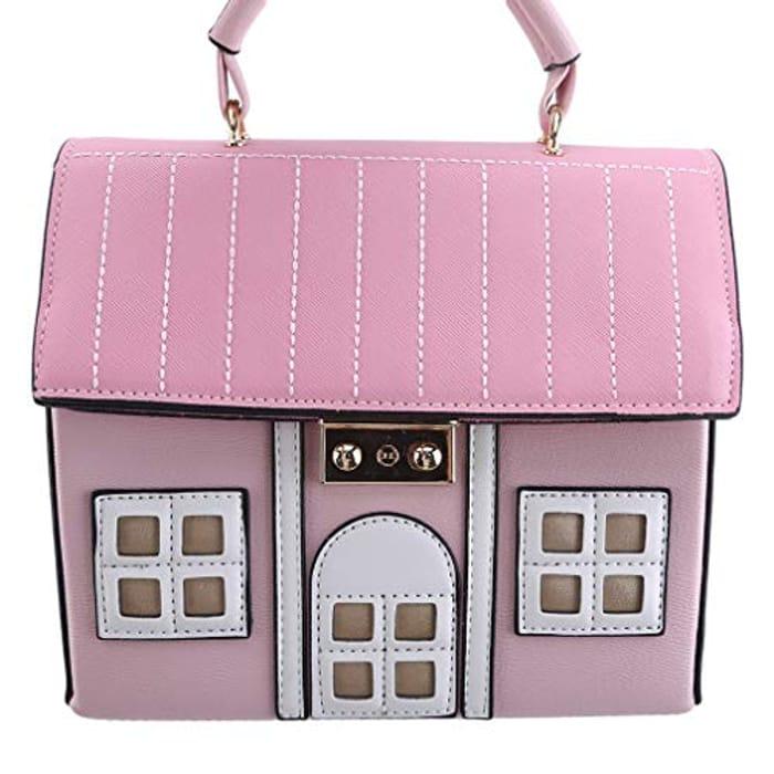 Cheap 3D House Shaped Handbag Only £11.76