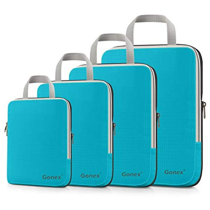 Gonex Compression Packing Cubes Extensible Organizer Bags