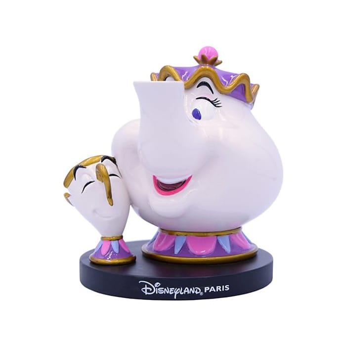 Disneyland Paris Mrs Potts and Chip Figurine