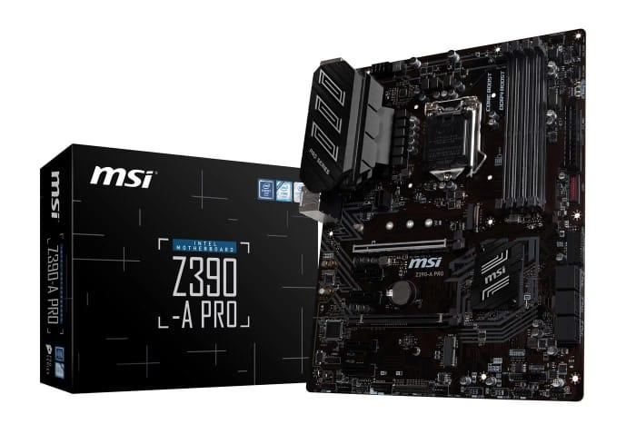 MSI Z390-a PRO Intel Socket 1151 Motherboard