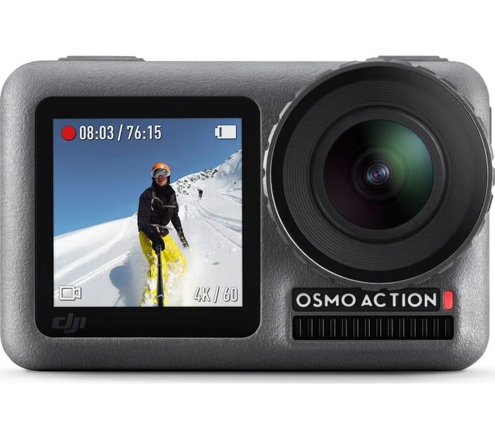 *SAVE £50* DJI Osmo Action Camera - Grey & Black
