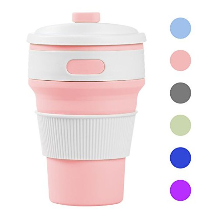 Prochive Collapsible Silicone Lightweight Coffee Cup FREE DELIVERY