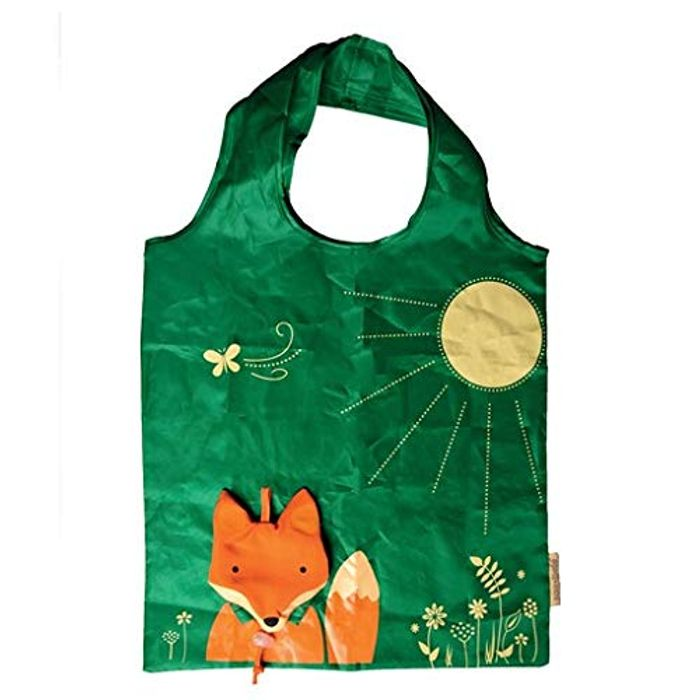 Sass & Belle Fox Foldable Shopping Bag FREE DELIVERY
