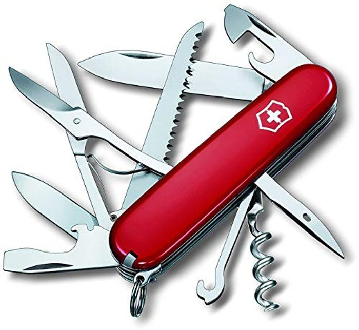Victorinox Huntsman Swiss Army Knife Red