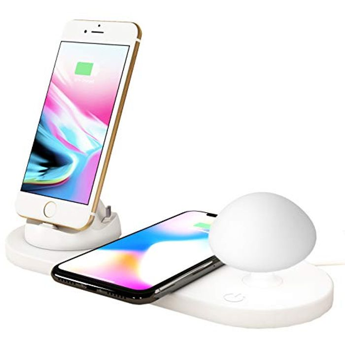BACK to SCHOOL FLASH SALE! Save25% on Wireless Charging Station with Light
