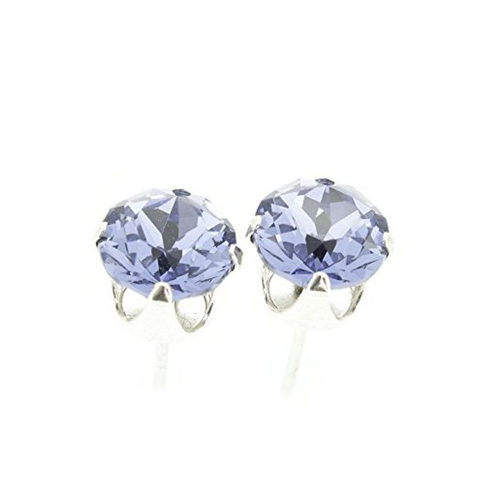 Lightning Deal 925 Sterling Silver Stud Earrings
