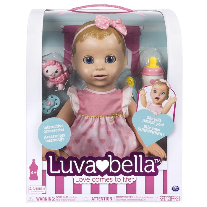 Luvabella Blonde Interactive Doll