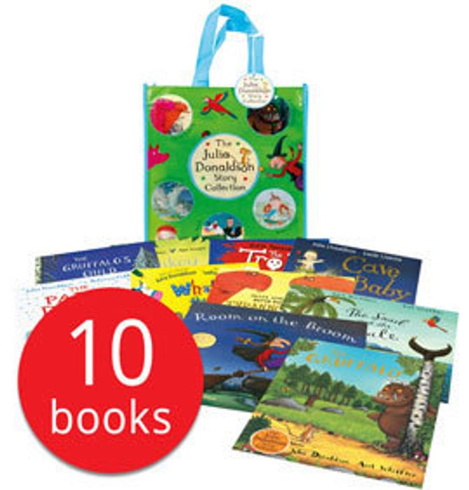 Julia Donaldson Set - 10 Books for £14.99!