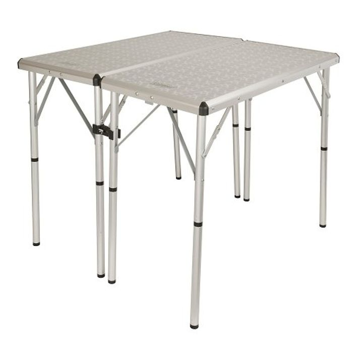 Coleman 6-in-1 Camping Table, Silver