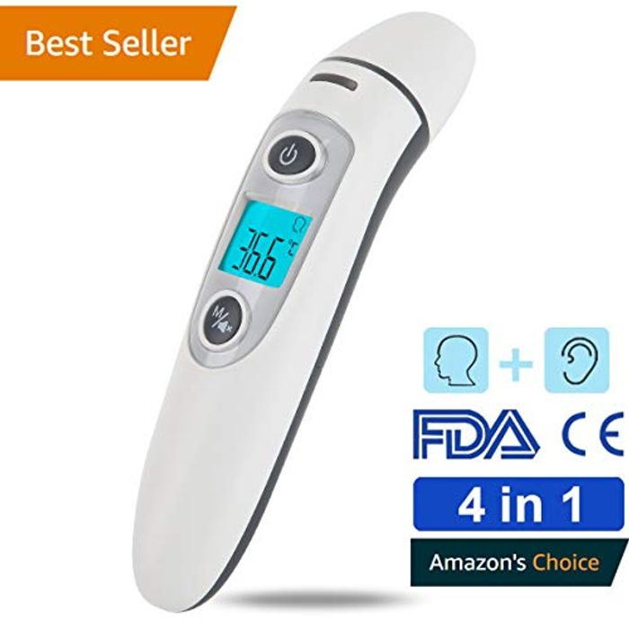 Lightning Deal! Professional Precision Infrared Digital Thermometer