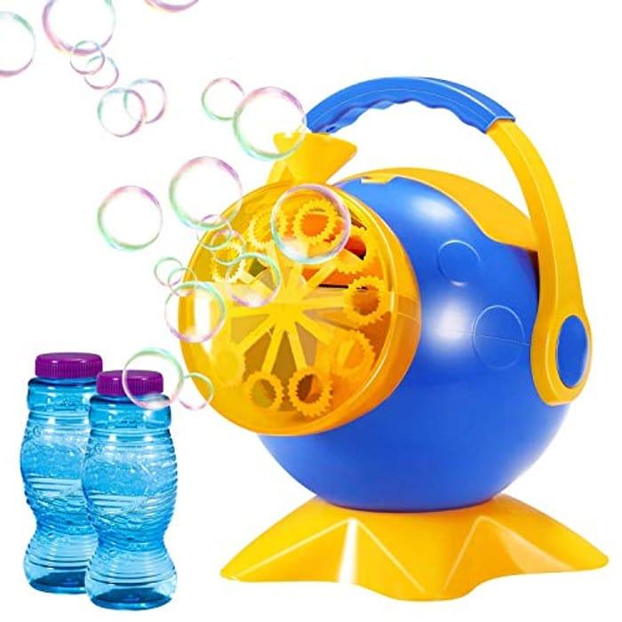 Automatic Bubble Blower Durable Bubble Maker W